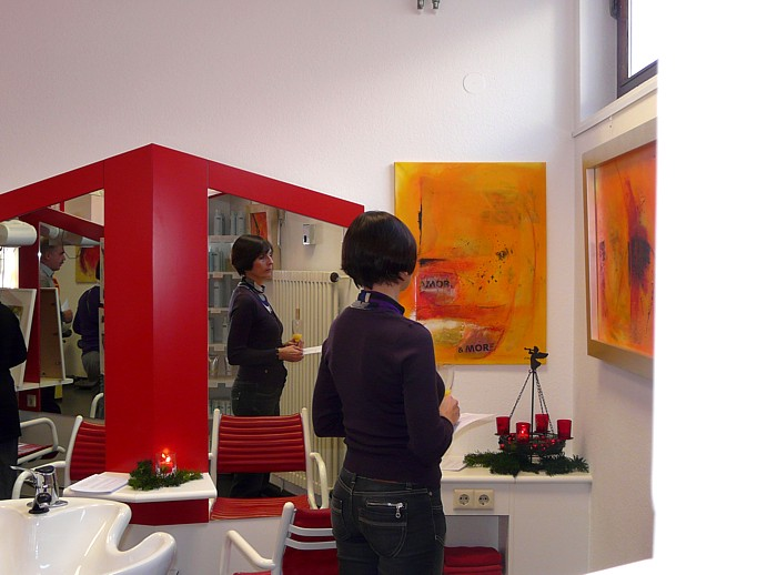 Vernissage: Rote Spuren